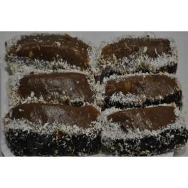 PASTEL BLANDO DE CHOCOLATE Y COCO (6uds y 12 uds)