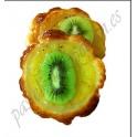Pastel de kiwi y piña